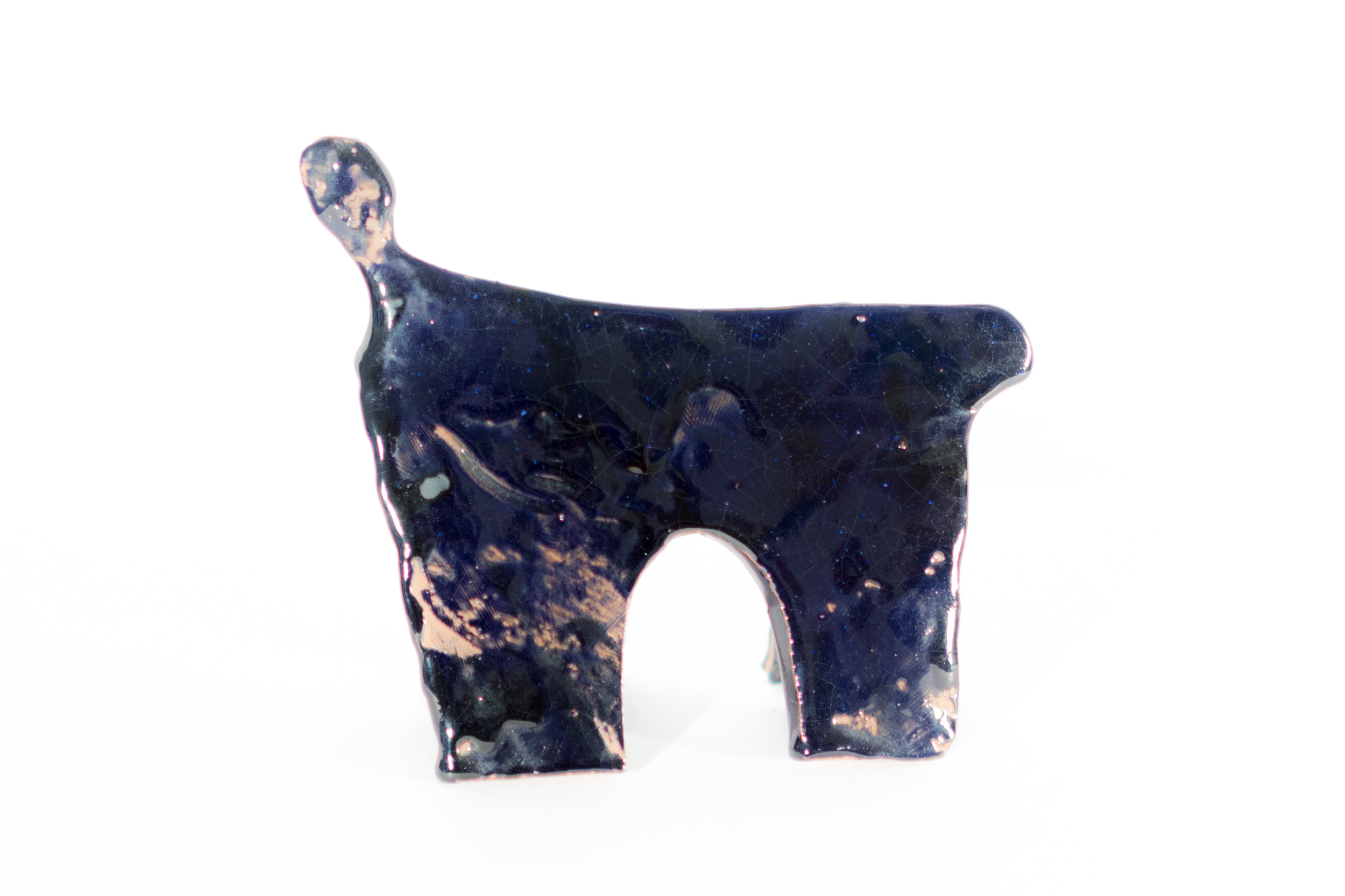 """Marie-Burgos-Design.Bonbon Chouval """"Nuit"""" Sculpture.Front.MBcollection.jpg"""