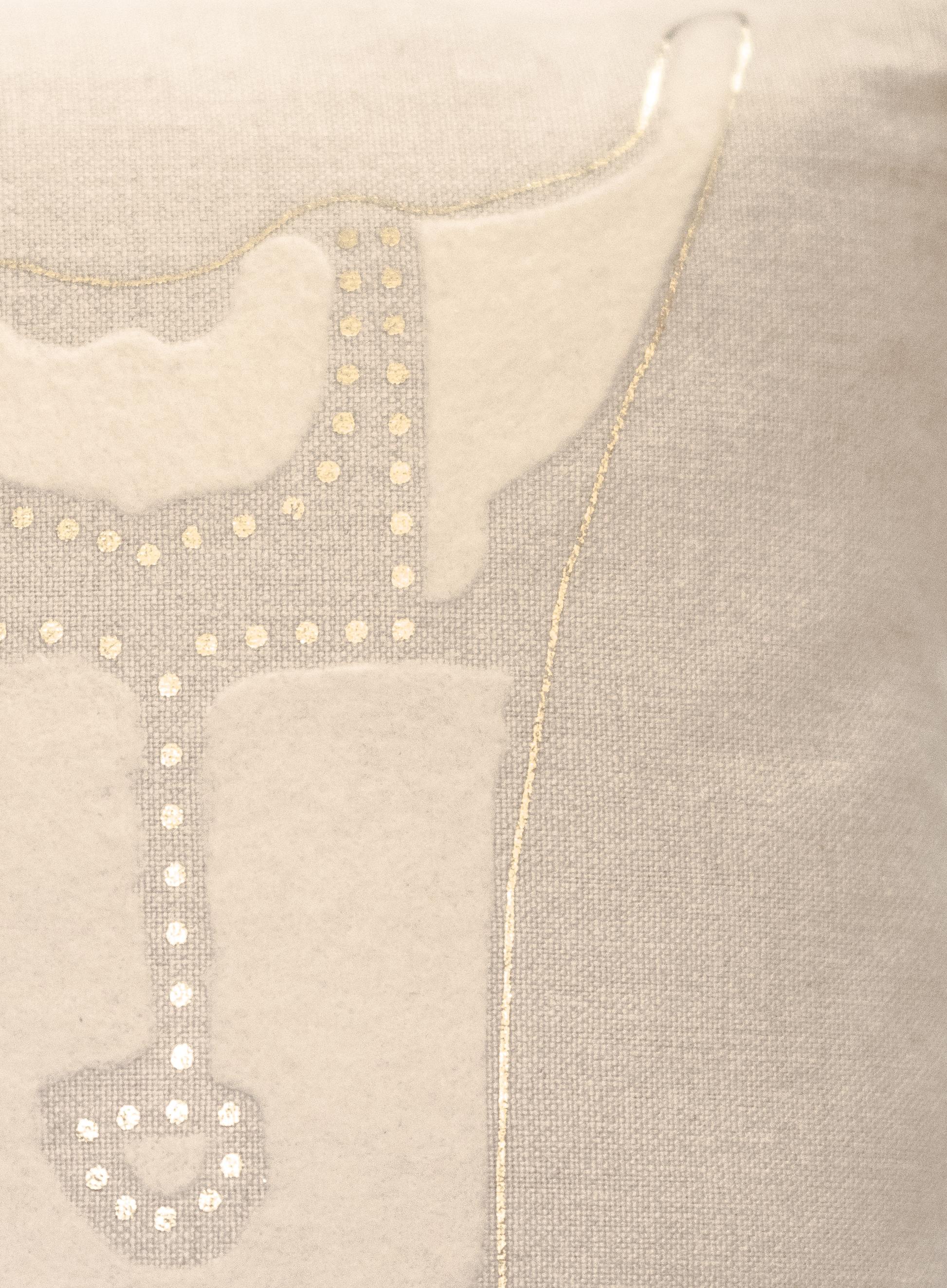 "Marie-Burgos-Design.""TERRA"" BONBON CHOUVAL PILLOW.Close-up.MBcollection.jpg"