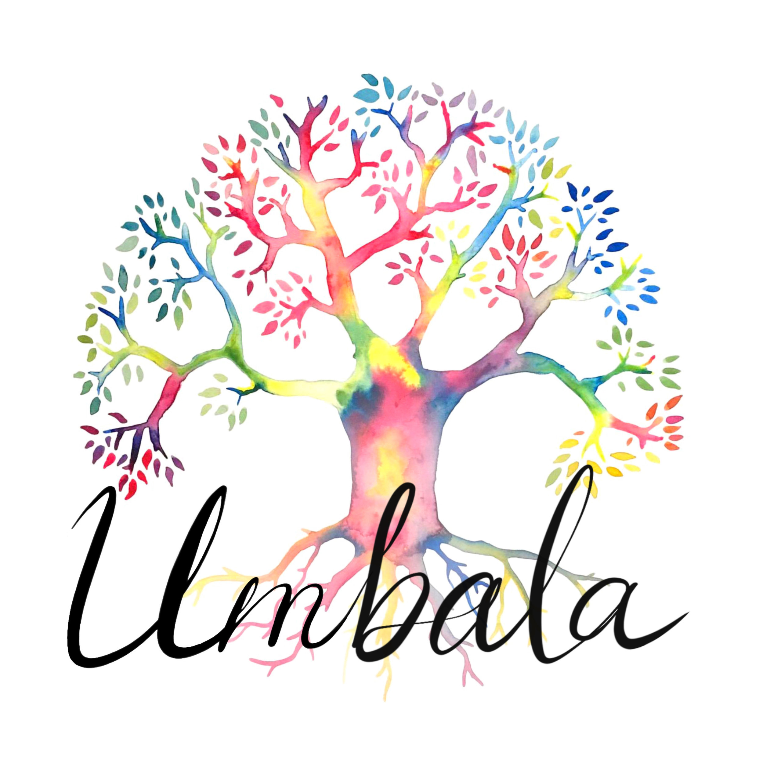 Artwork, lettering and logo design for Umbala Events ($600)