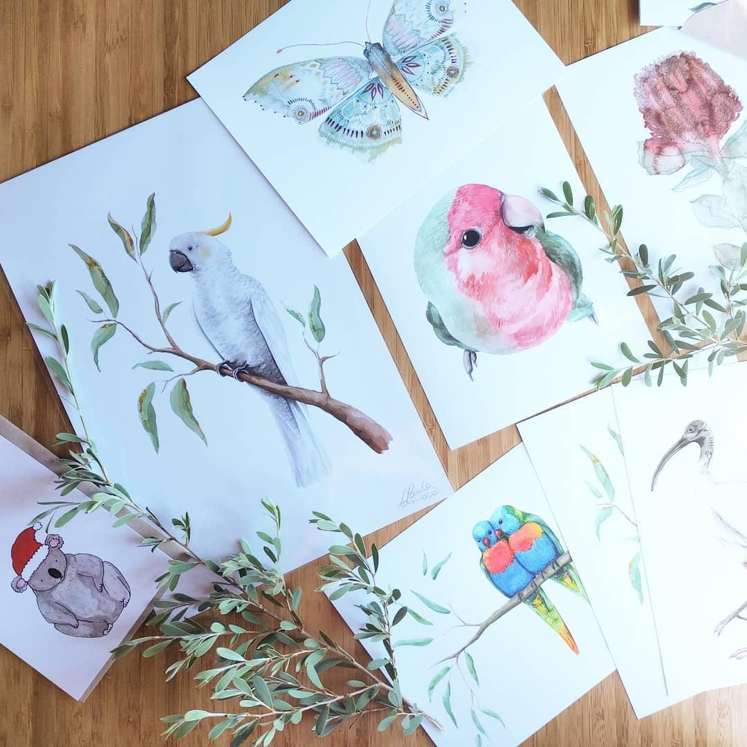 greeting cards wholesale art prints paula formosa watercolour painting