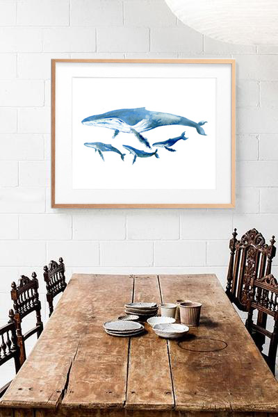 indoor rustic whale and calves.jpg