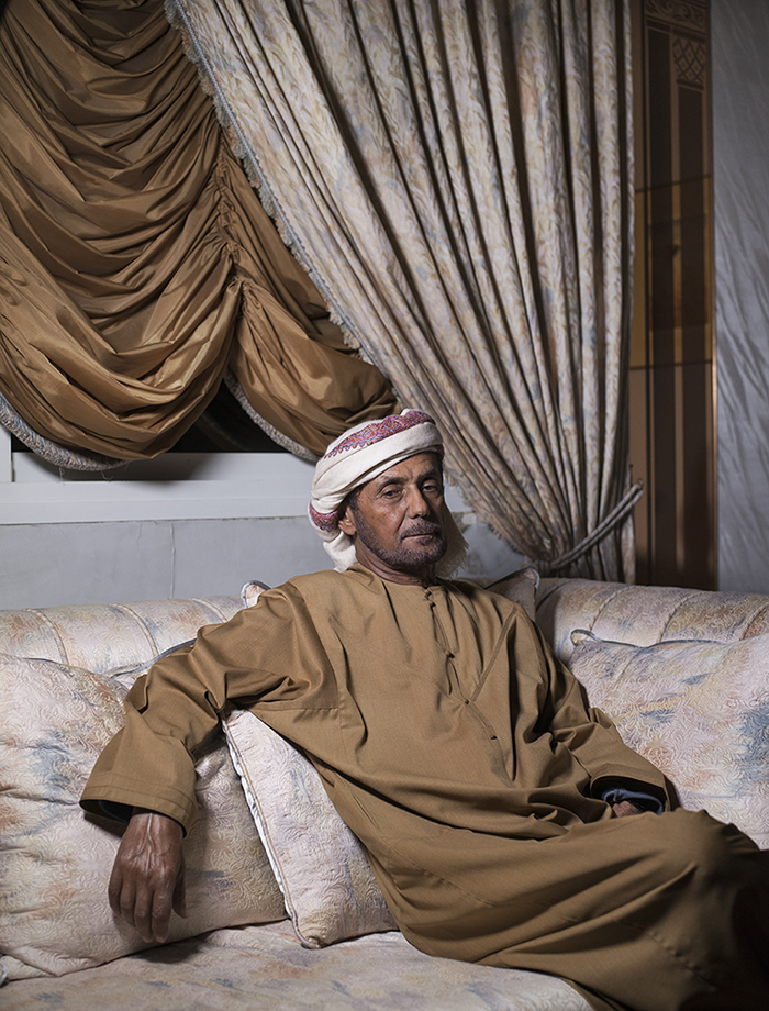 Farah Al Qasimi, Baba at Home , 2017
