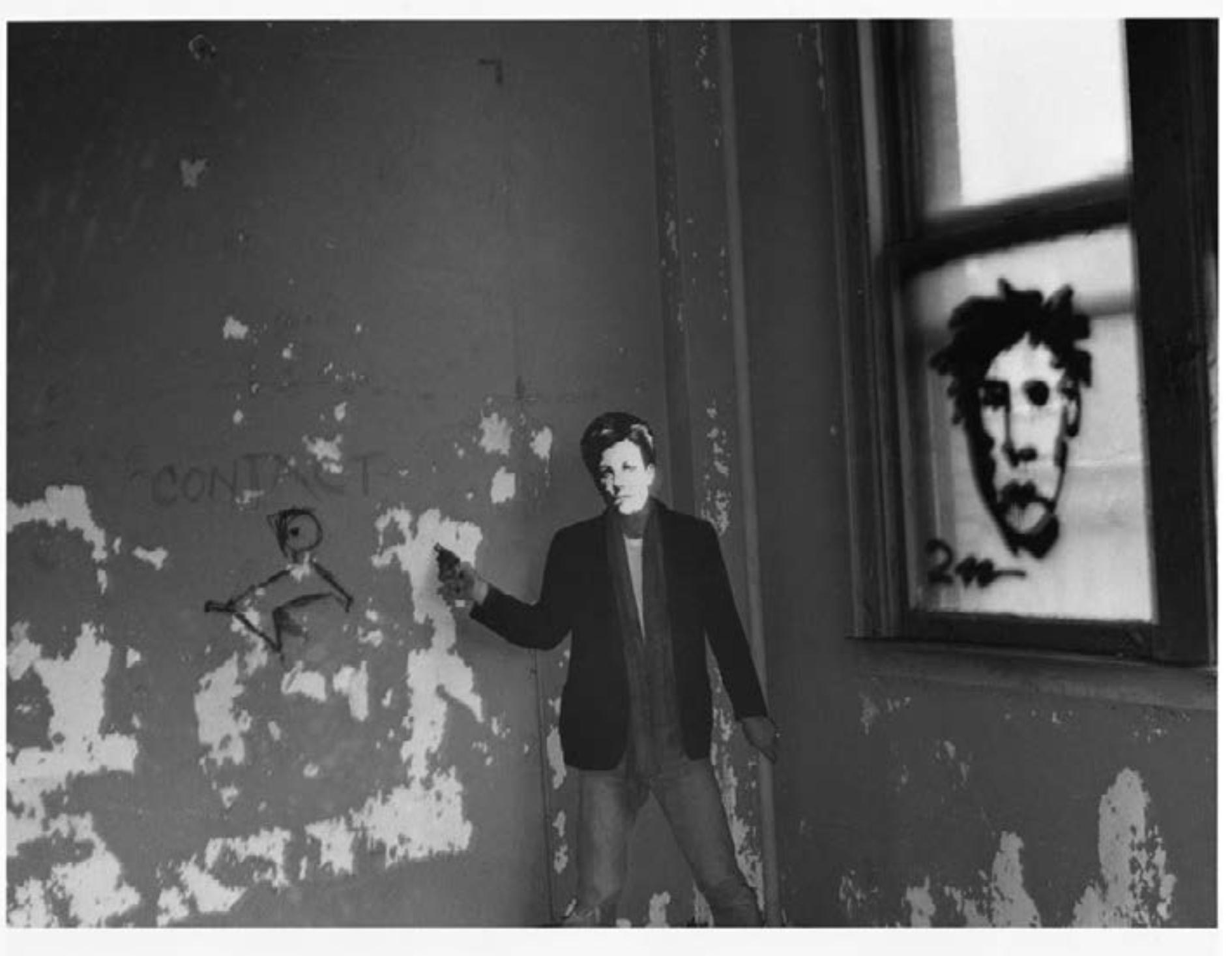 David Wojnarovicz,  Arthur Rimbaud in New York (contact, with gun) , 1978-79/2004