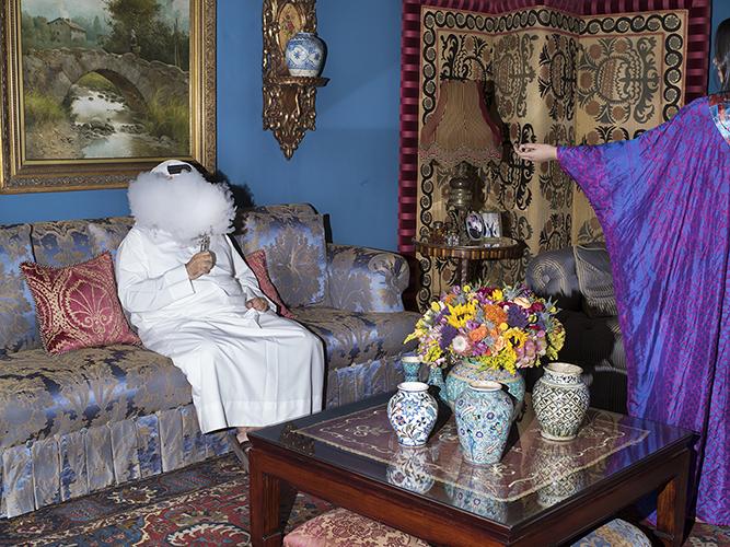 Farah Al Qasimi,  Livingroom Vape , 2017