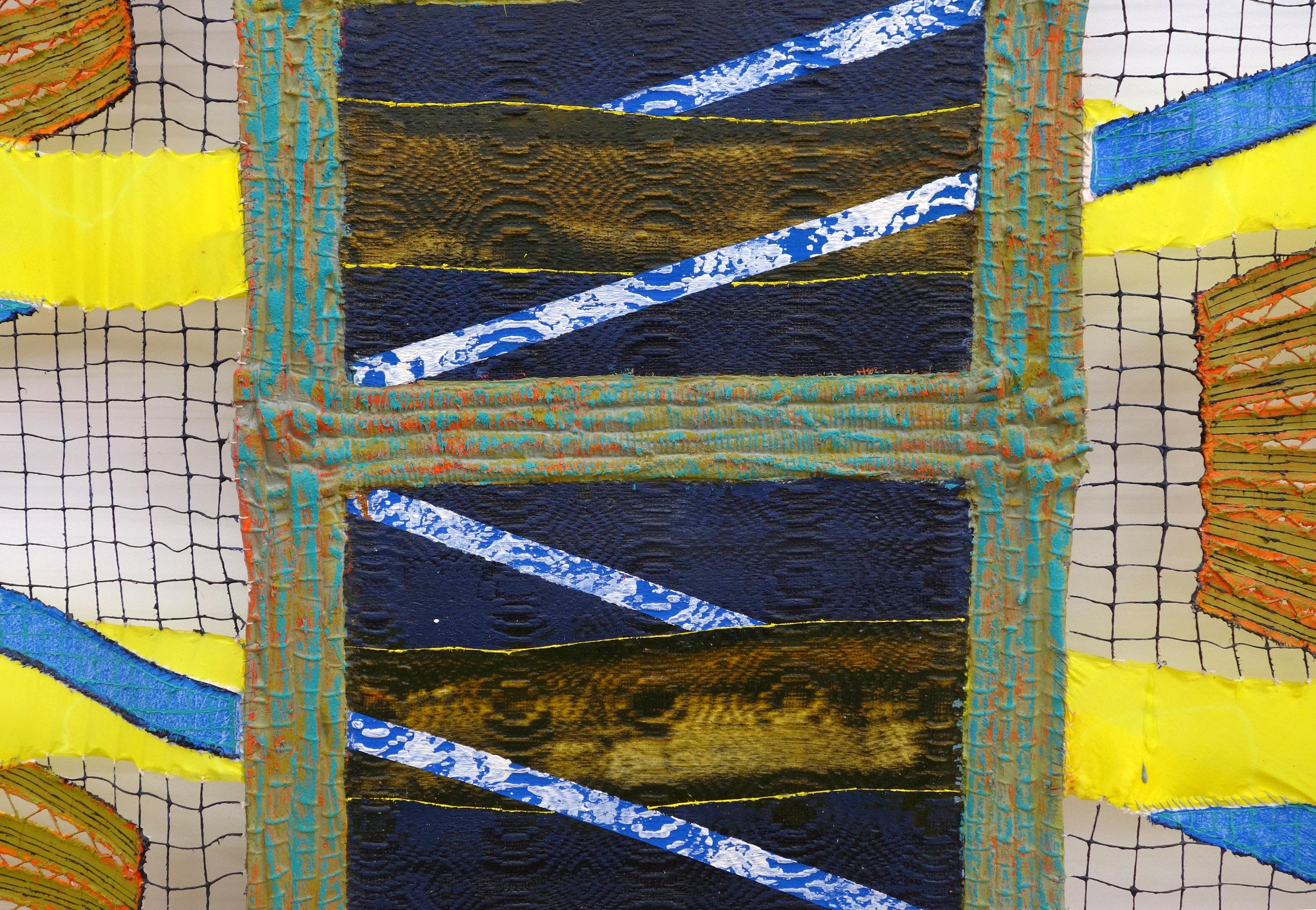 Julia Bland,  Broken Clock (Twice a Day) , 2016, detail
