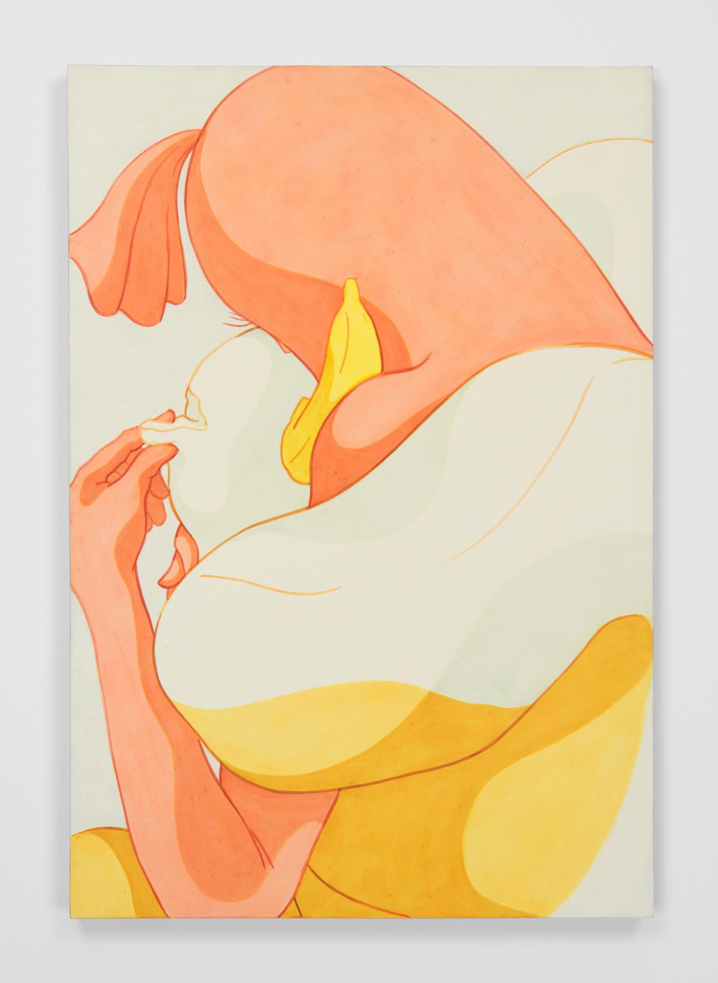 Ivy Haldeman,  Banana Phone, Torn Bun , 2018