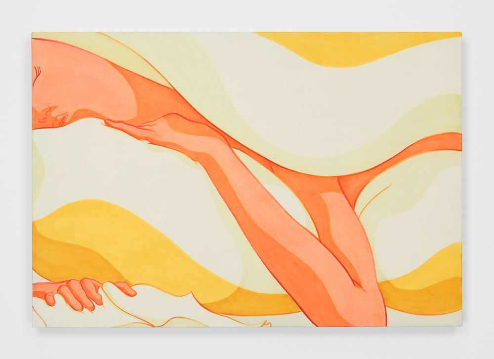 Ivy Haldeman,  Close Up, Sleeping Figure, Pinky Out, Book Squeeze , 2018