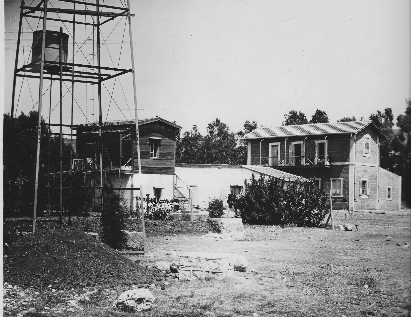 Jewish agricultural experiment station in Atlit