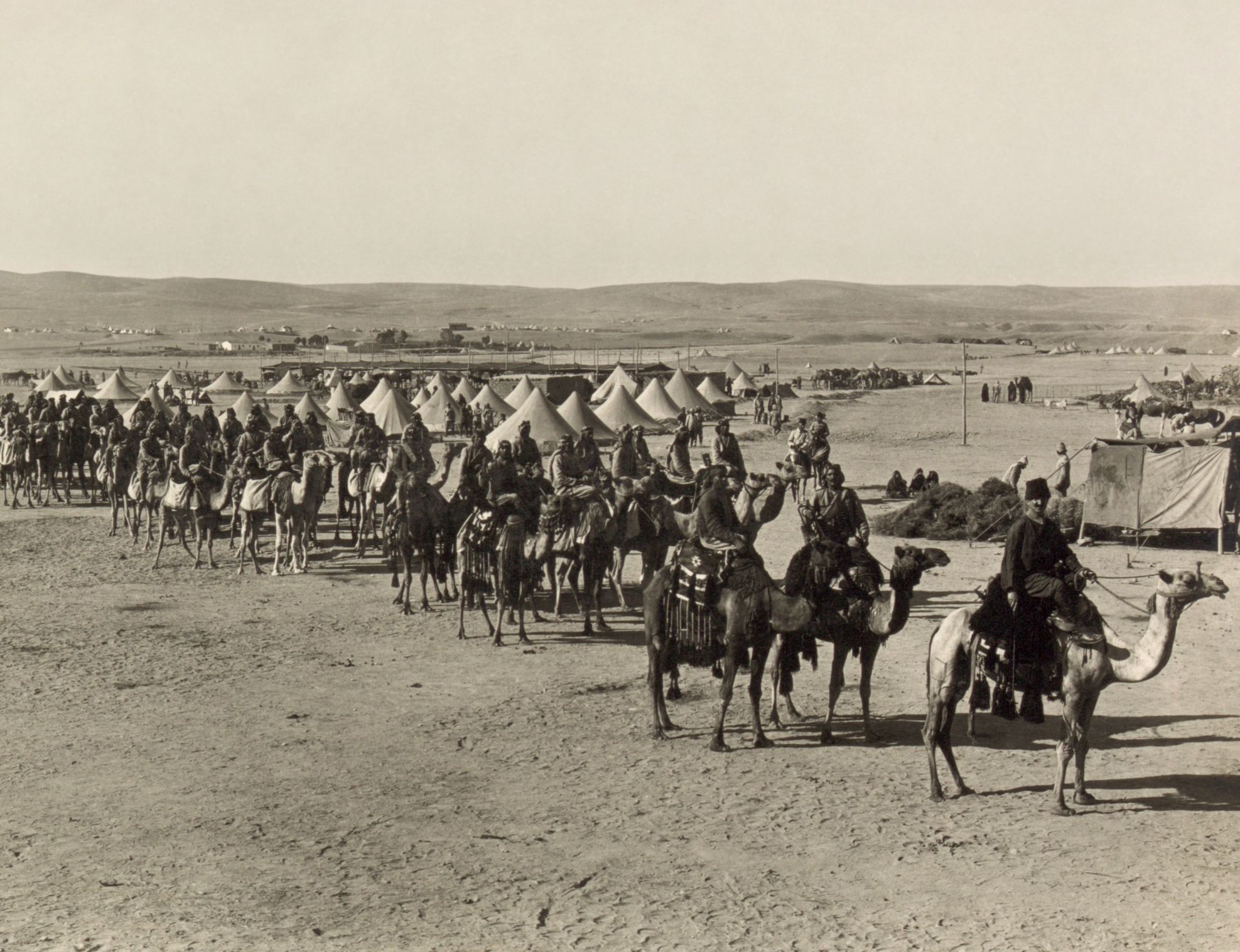 The_camel_corps_at_Beersheba-gregorywallance-thewomanwhofoughtanempire.jpg