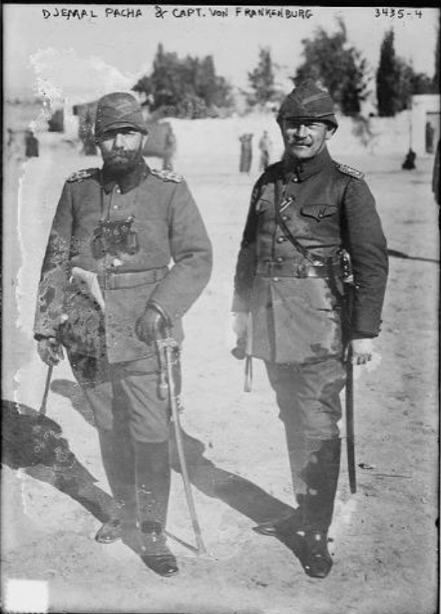 Djemal Pasha and a German officer