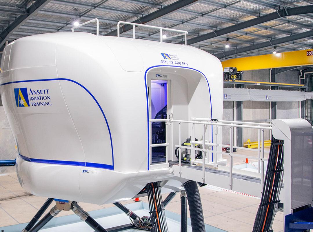 Ansett Aviation Training - Providing commercial power for Ansett Aviations new training facility in Pinkenba.