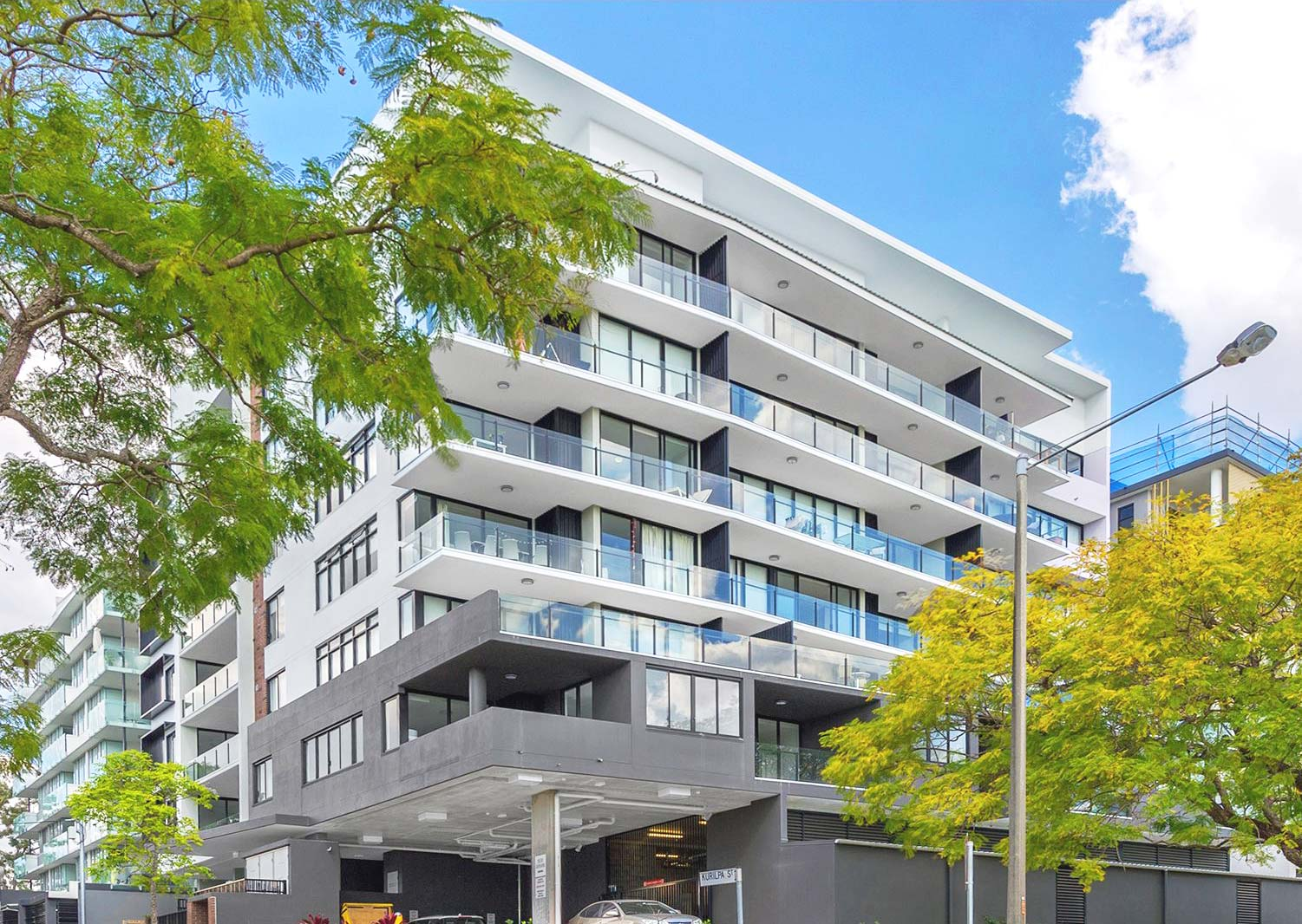 Kurilpa Street Apartments - Design and construct for 40 high-end river-front apartments in West End, Brisbane.