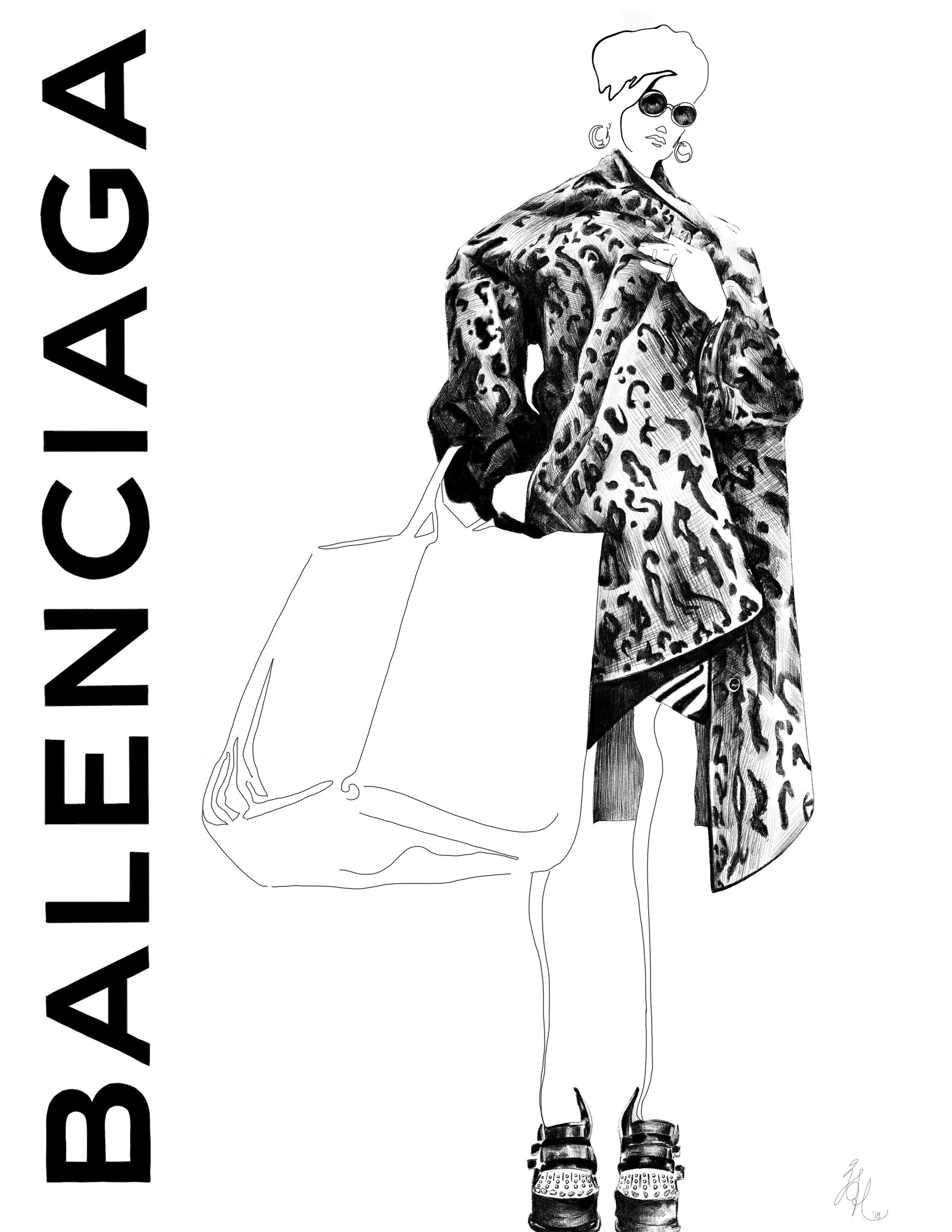 Balenciaga A/W 2018 - Personal Project