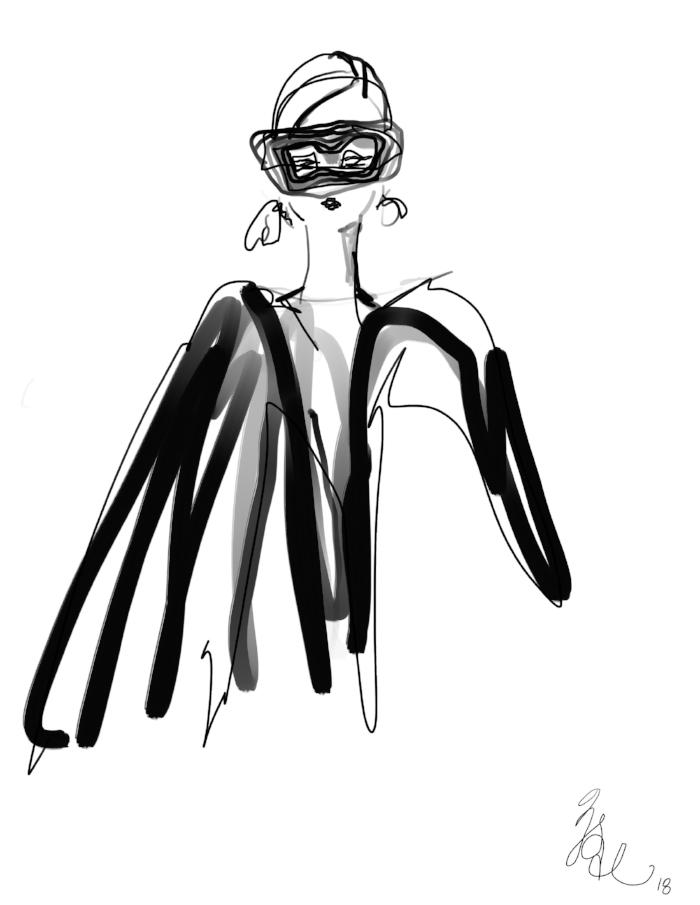 Dior, Philip Treacy Mask