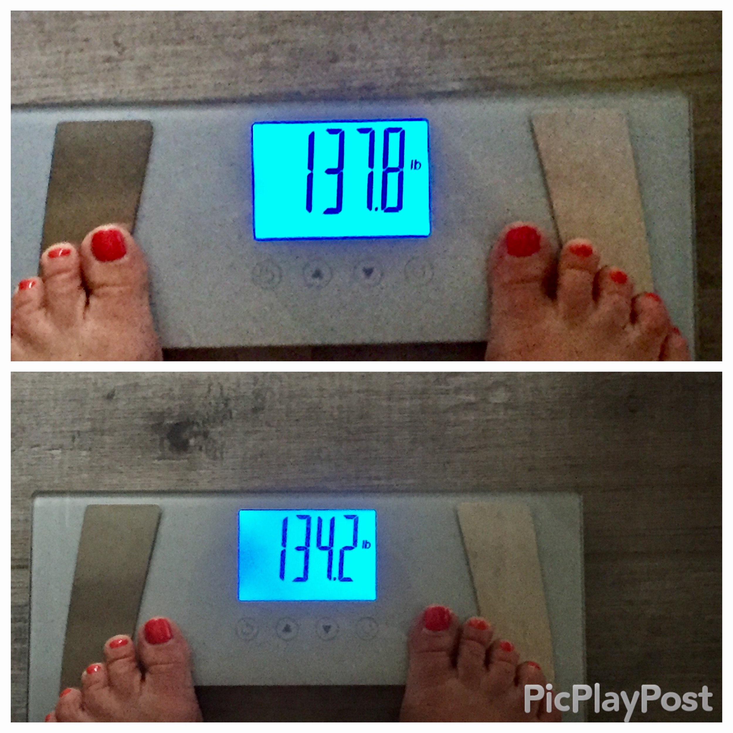 3 Day Refresh Weigh In Results