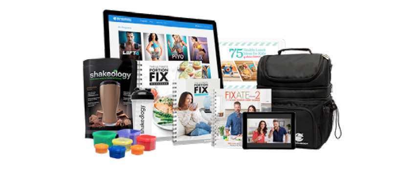 Ultimate Portion Fix + Shakeology + Beachbody on Demand Challenge Pack