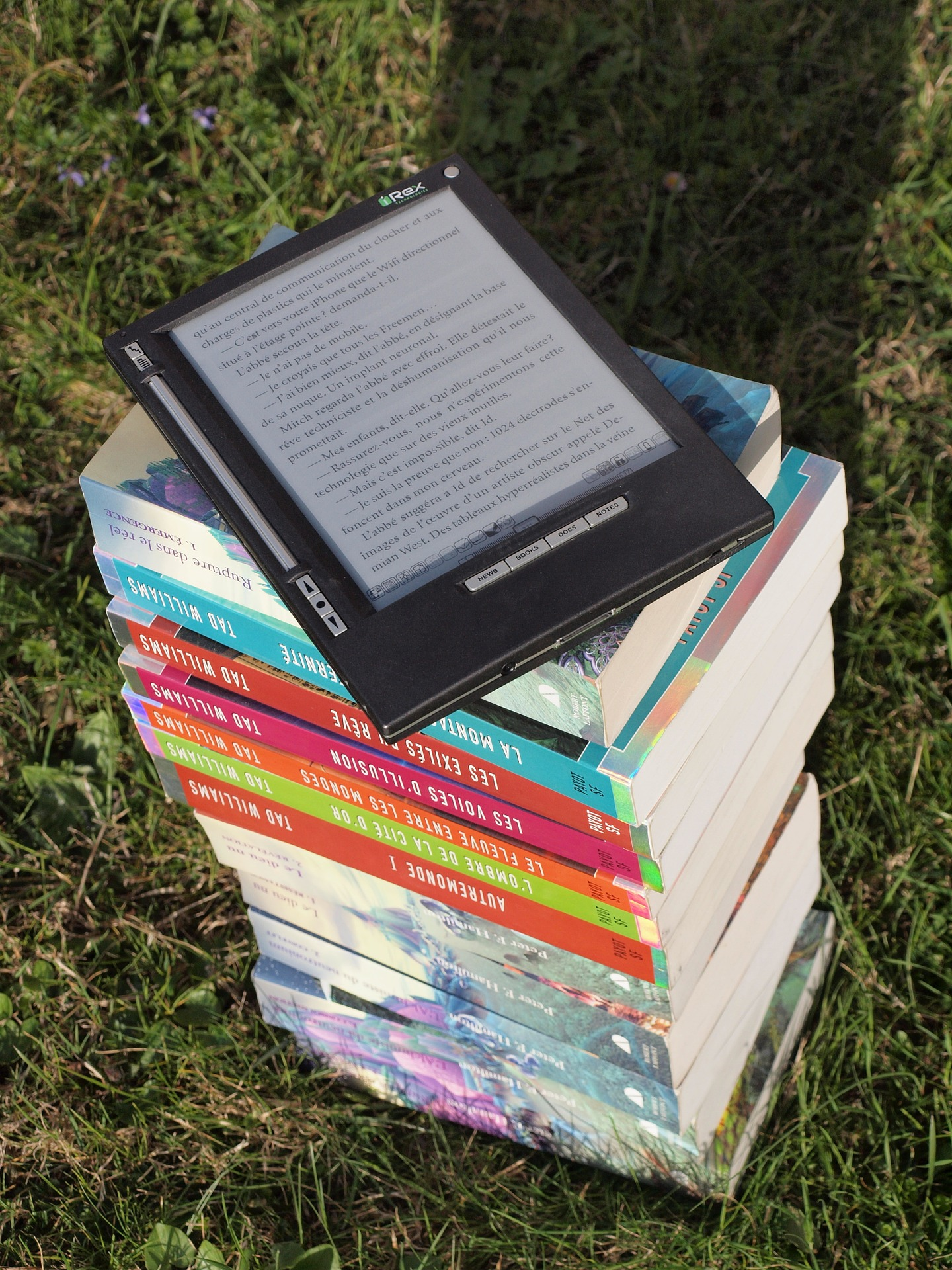 Your eReader replaces are those heavy books you had to lug around