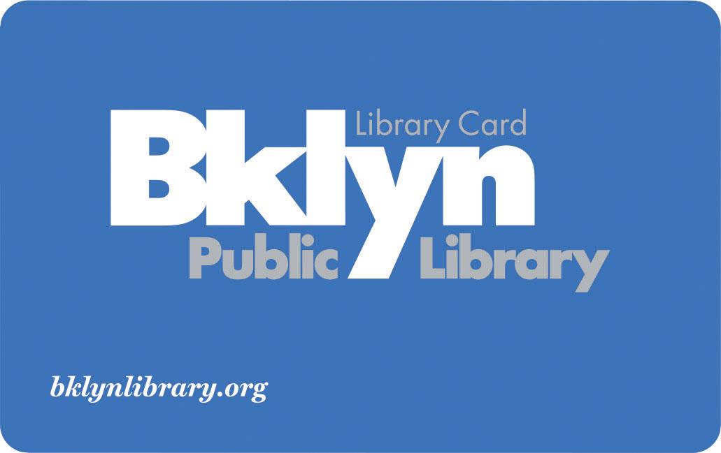Brooklyn library card