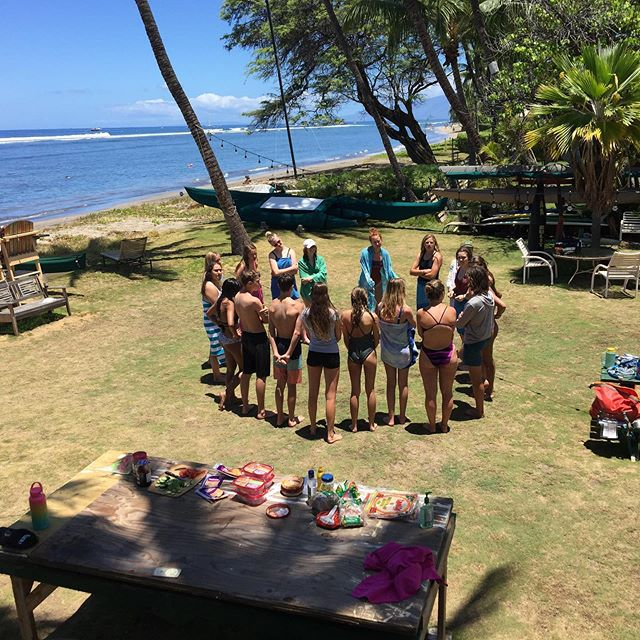 We welcomed students from Road Less Travelled Summer program to Polanui.  They spent the day (July 3) learning about marine ecosystem and coral ecology.  #polanuihiu #makairestoration #studentlearning #summerprogram #roadlesstravelled #maui #volunteer #malamakai #protectourreefs