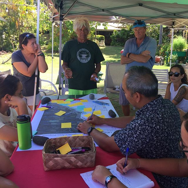 Mahalo to Snake Ah Hee for sharing valuable historical stories.  Today's group shared ideas and thoughts of how we can restore the abundance of our  marine cultural resources. #polanuihiu #lahaina #maui #makairestoration #protectourreefs #protectouroceans #abundance #ecofriendly