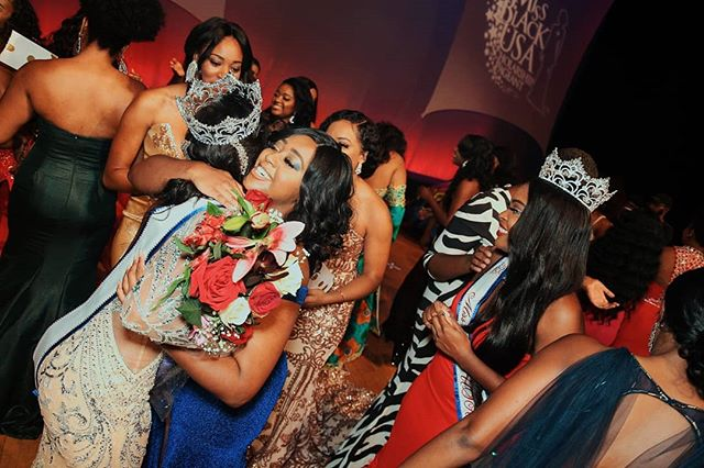 Sister love ❤. One of the best parts of being a part of Miss Black USA is the bonds you make. Thankful for all of the ladies who played a role in making this experience magical. 📸: @vwellstudios