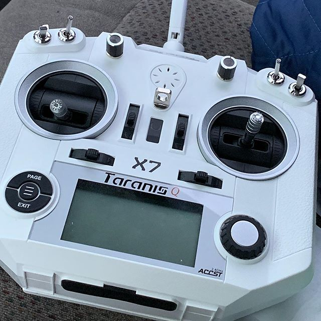 My videos are gonna look cooler in a few months (after lots of practice) #fpv #quadcopter #frsky stuff like that...