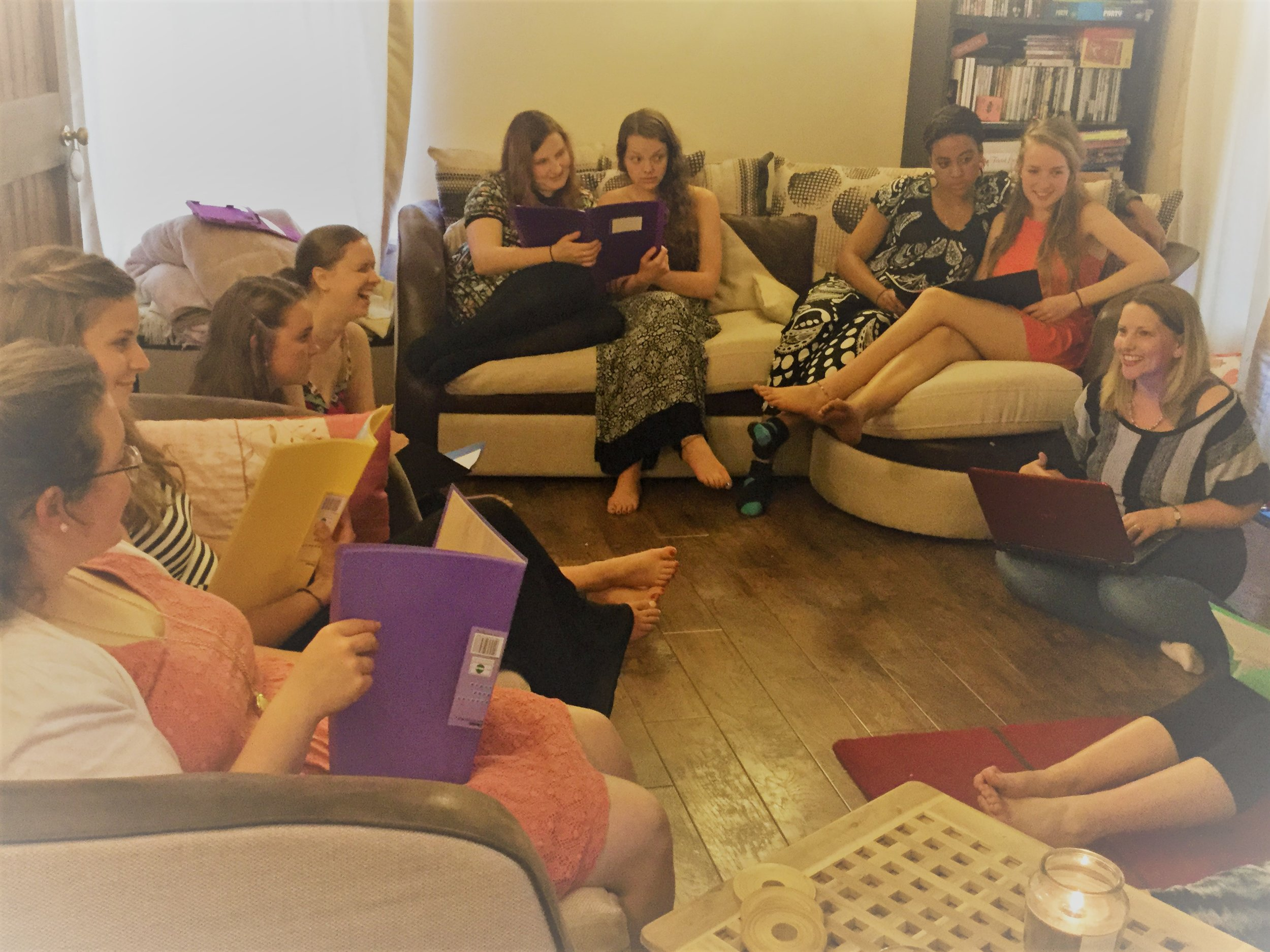 July 2015  Looking for Love's First book group   #LovetheseGirls