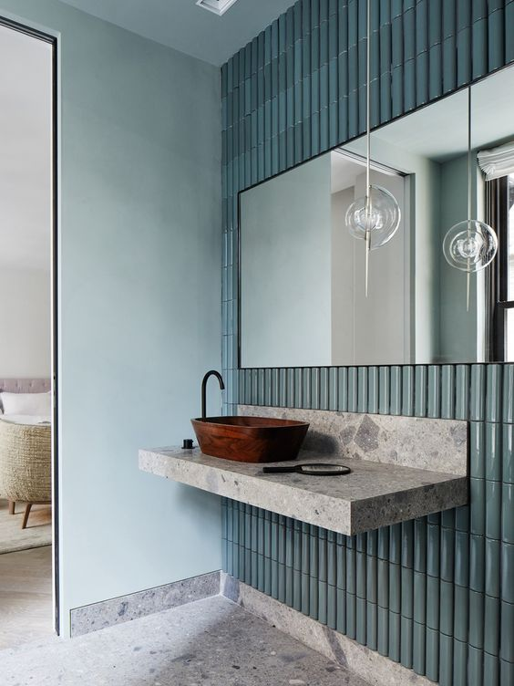 Tiles by Sebastian Herkner for New York concept store, photographed by Alice Gao.