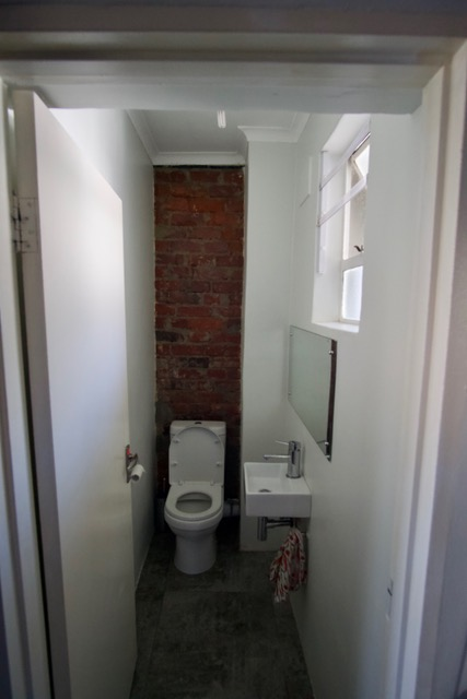 Visitor's toilet