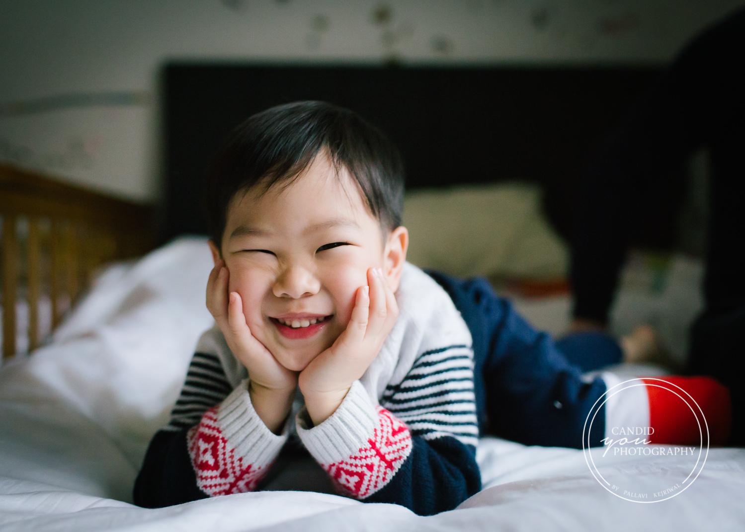 Harborne Asian Boy smiling