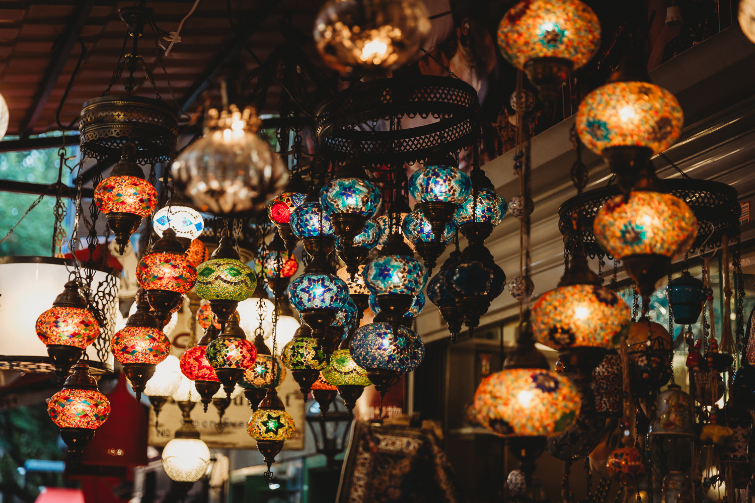 goods at grand bazaar istanbul
