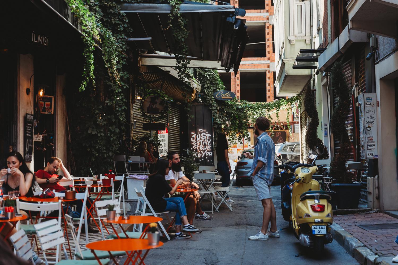 streets of karakoy istanbul