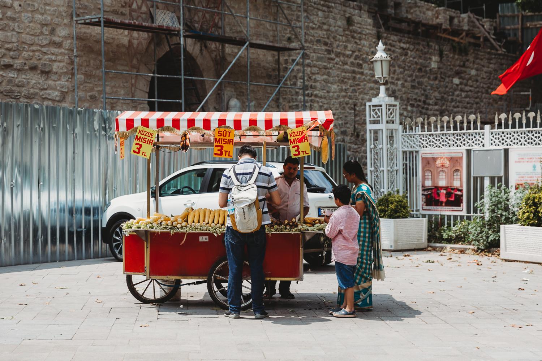 street vendor turkey istanbul