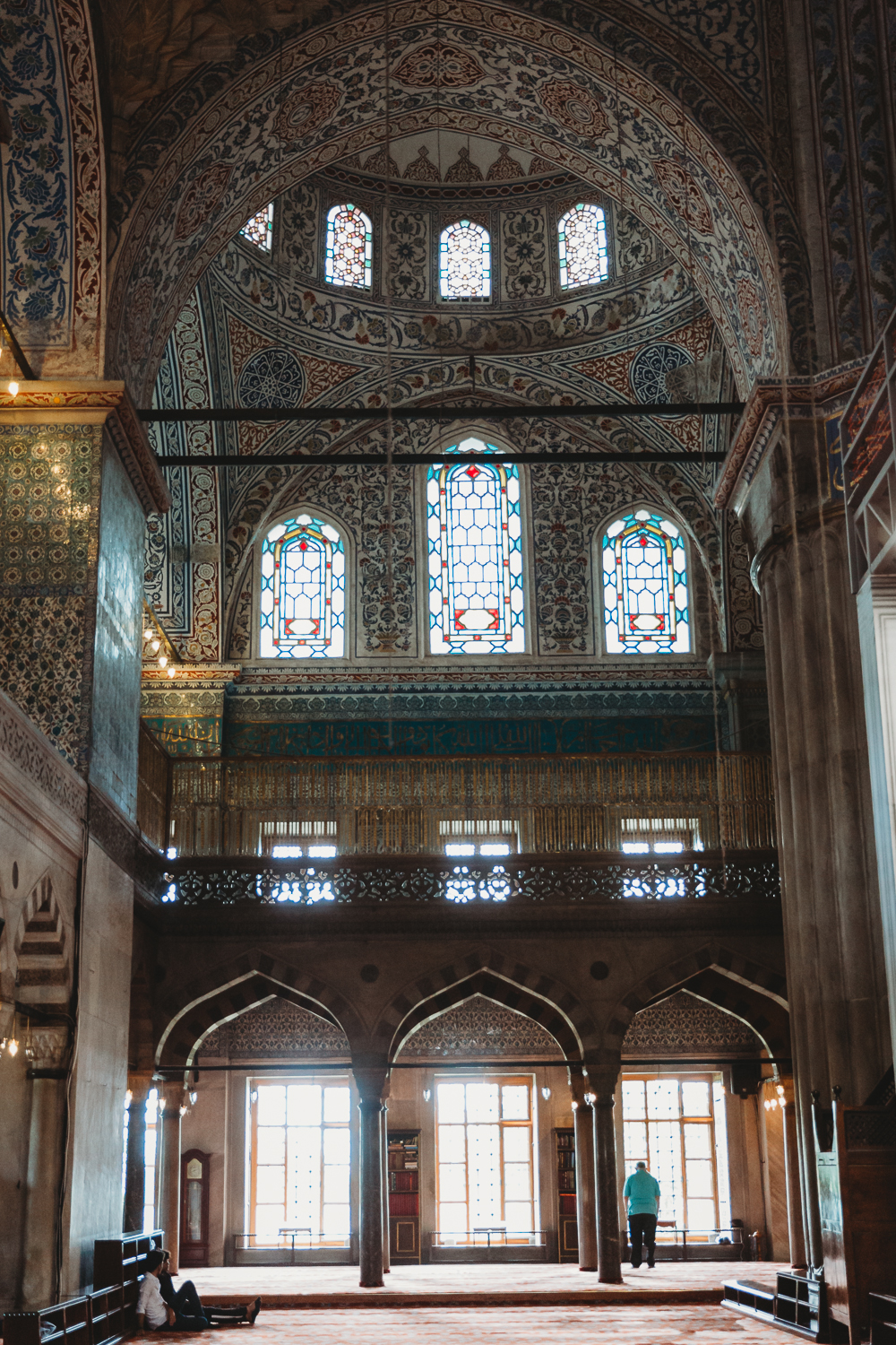 summer vacation turkey istanbul blue mosque