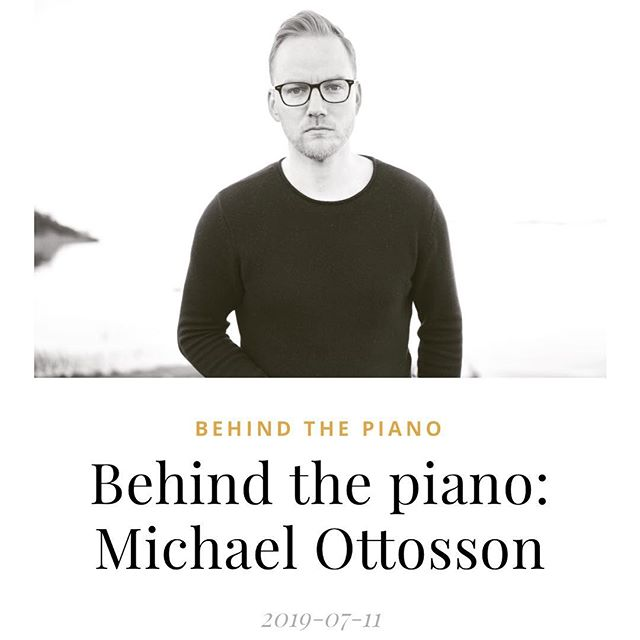 "Talked to Sleepy songs about my work and my latest release ""In time we'll be"". Thanks Johan for adding this! 🙂🙏🏼 Link in bio! . . . #composer #classical #piano #softpiano #classicalpiano #uprightpiano #sleepysongs #intimewellbe #michaelottosson"