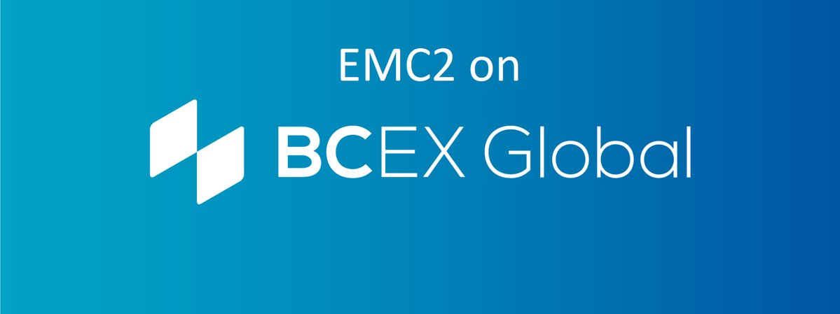 EMC2OnBCEXGlobal