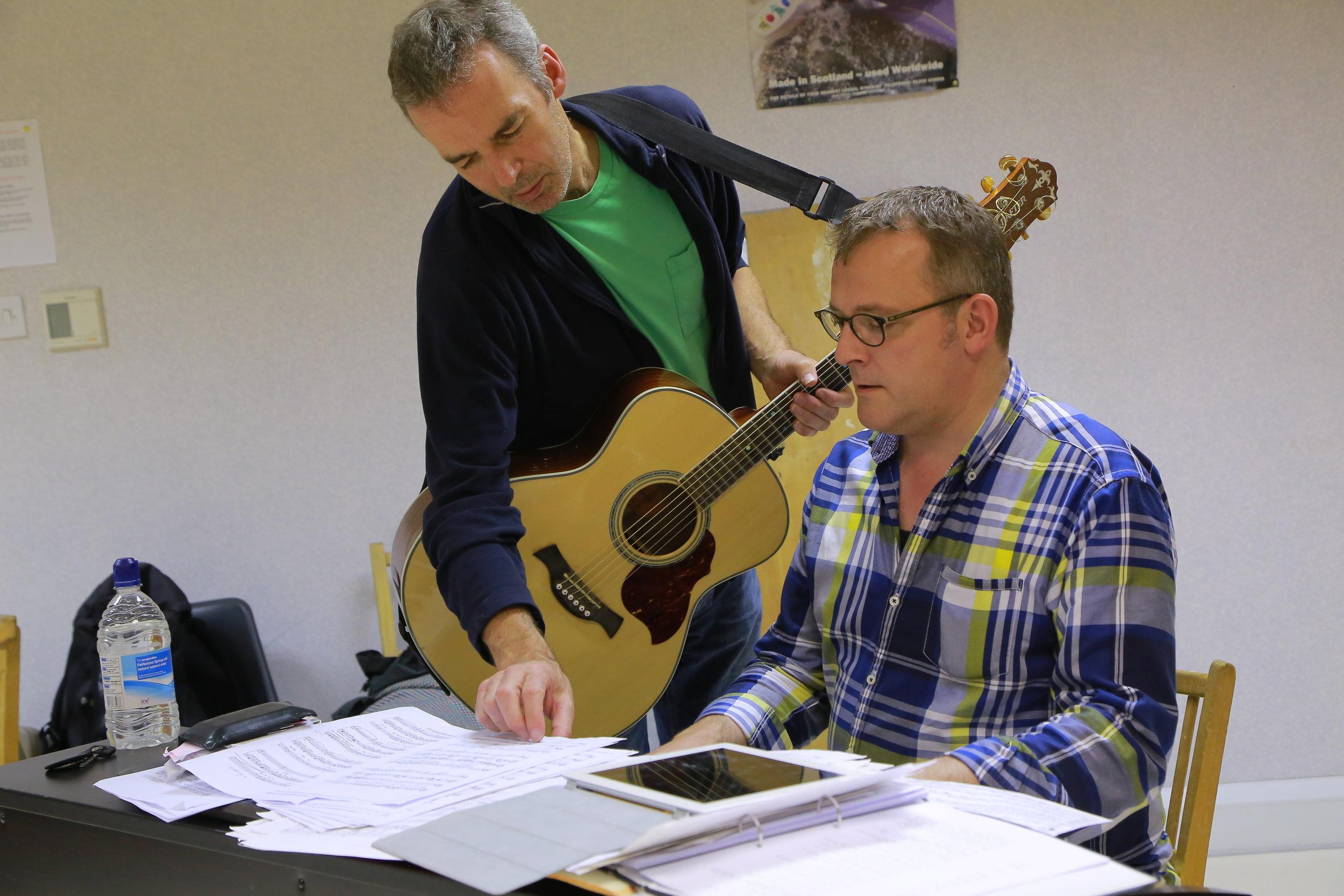 with Alan McHugh