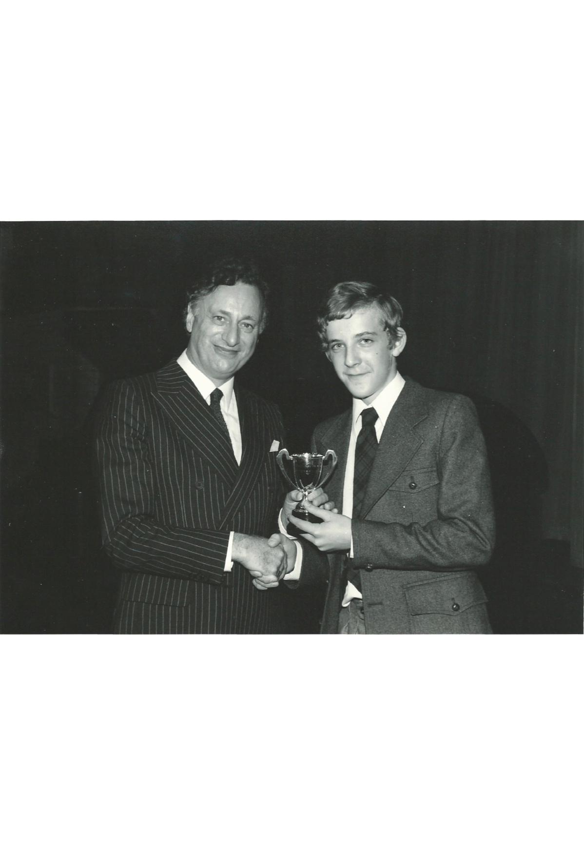 with Paul Eddington