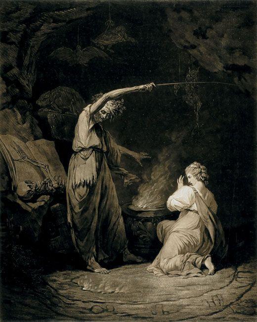 Art by John Dixon after John Hamilton Mortimer 1773