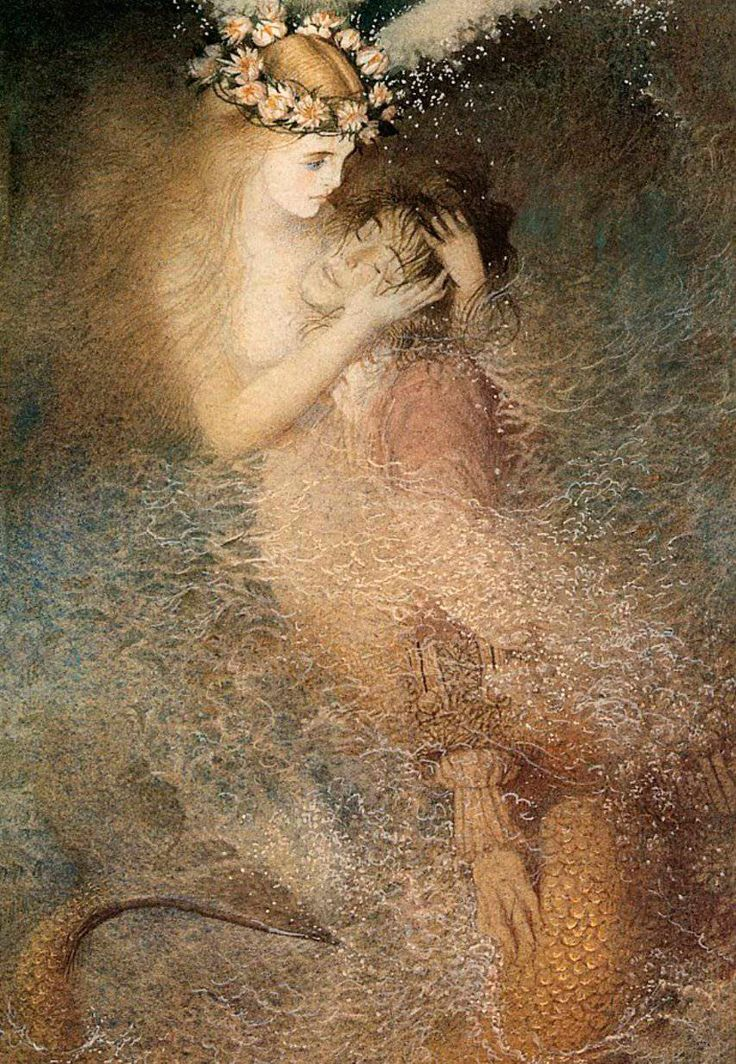 Painting by Gennady Spirin