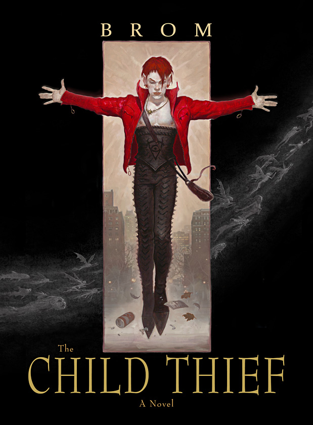 """""""The Child Thief"""" book by  Gerald Brom"""