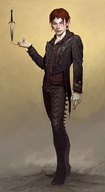 """Peter - """"The Child Thief"""" art by  Gerald Brom"""