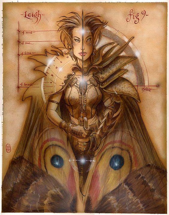 Art by Tony DiTerlizzi, Never Abandon Imagination