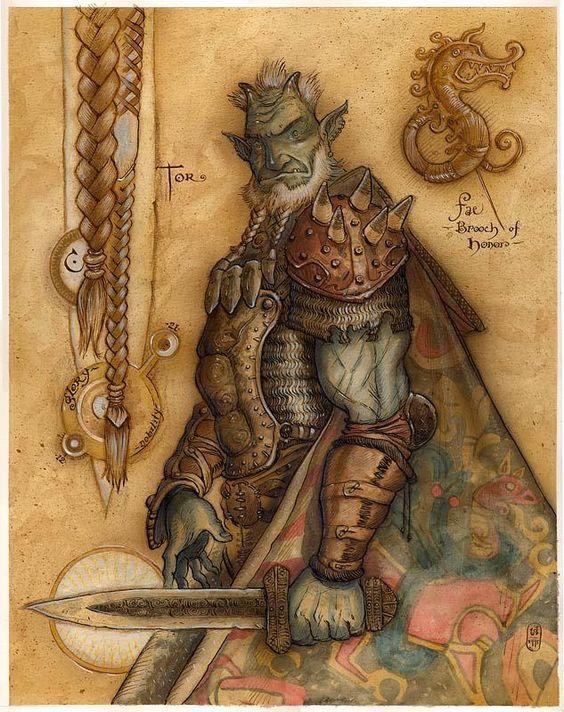 Troll - Art by Tony Diterlizzi