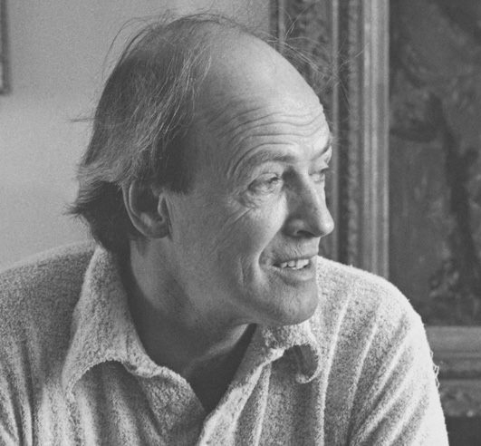 Roald Dahl - Photo source  here