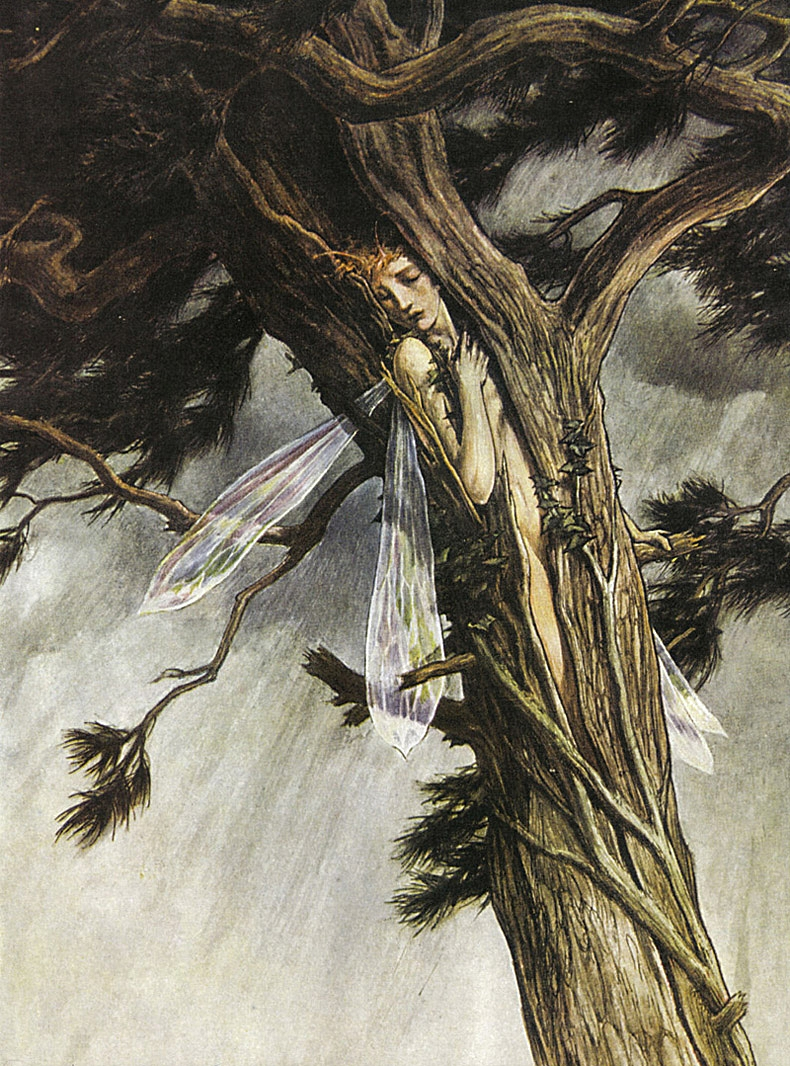"""An illustration by Paul Wood-Roffe for """"The Tempest"""" by William Shakespeare"""
