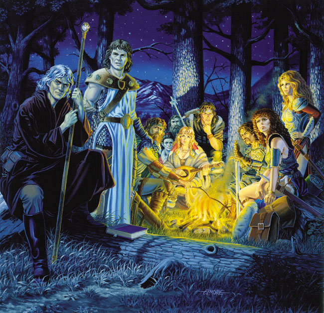Dragonlance by Larry Elmore