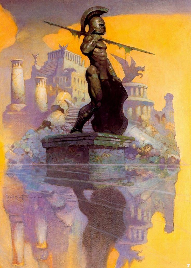 Atlantis | Frank Frazetta