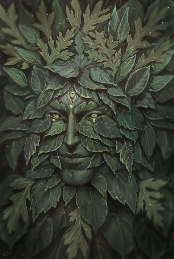 Greenman by NazNemati