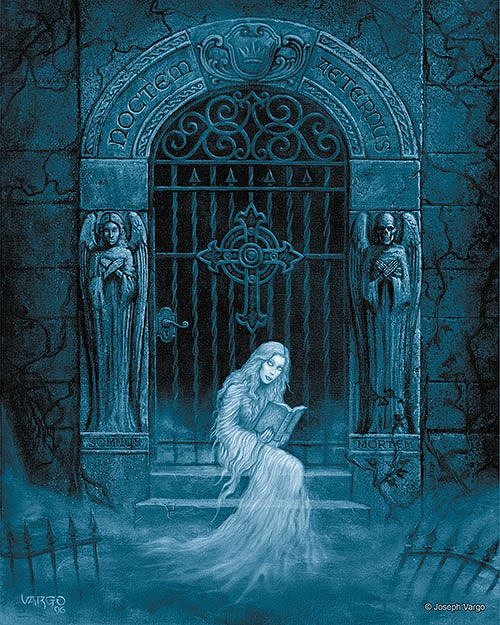 The Spirit Realm: Gothic Fantasy Artwork by Joseph Vargo